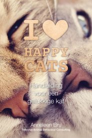Gesigneerd boek I Love Happy Cats