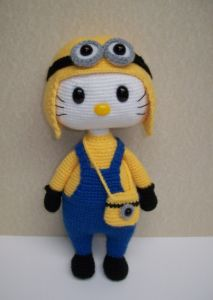Kitty als minion